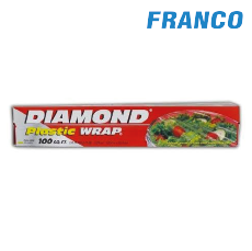 DIAMOND PLASTIC WRAP X100 SQ