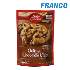 BETTY CROCKER OATMEAL COOKIE MIX X496GR