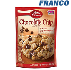 BETTY CROCKER CHOCOLATE CHIP X 184GR