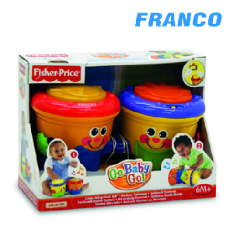 BOP  CRAWL BONGOS FISHER PRICE K8845