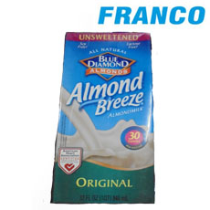 BLUE DIAMOND ALMOND ORIGINAL30CALORIASX946ML