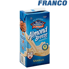 BLUE DIAMOND ALMONDS BREEZE VAINILLA X 946ML