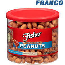FISHER HONEY ROASTED PENUTS X 400 GR.