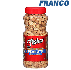 FISHER HONEY ROASTED PEANUTS X 140 GR.