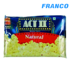 ACT II POP CORN PMICROONDAS SNATURAL LIGHT X 85 GR. UND. PQ