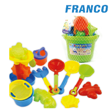 BEACH TOYS SET PLAYA MEDIANO X UND