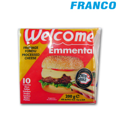 WELCOME EMMENTAL QUESO LONJAS  X 200GR