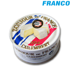 BONJOUR DE FRANCE QUESO CAMEMBERT X125GR LATA
