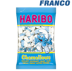 HARIBO CHAMALLOWS PITUFOS X85G
