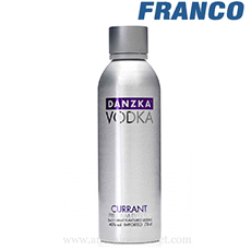 DANZKA VODKA CURRANT X750ML