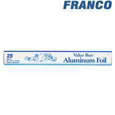 BEST VALUE ALUMINIUM FOIL 25 FT