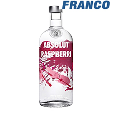 ABSOLUT RASPBERRI VODKA X750ML