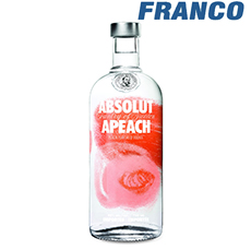 ABSOLUT APEACH VODKA X750ML