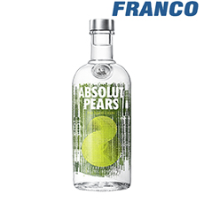 ABSOLUT PEARS VODKAX750