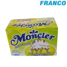 jabon moncler amarillo