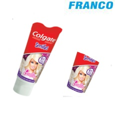 COLGATE CREMA DENTAL SMILES BARBIEX100G 6 +