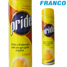 PRIDE LIMON BRILLO PROTECCION AER X400ML