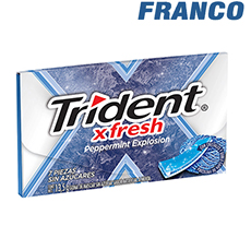 TRIDENT XFRESH PEPPERMINT EXPLOSION X13.5