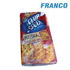 CLUB SOCIAL INTEGRAL C /  HOJUELAS DE ARROZ SIX PACK