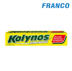 KOLYNOS CREMA DENTAL X22ML