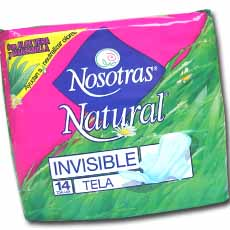 NOSOTRAS NATURAL INVISIBLE TELA X14UND
