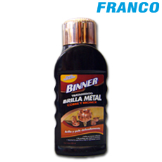 BINNER BRILLA METAL COBRE Y BRONCE X 300 ML