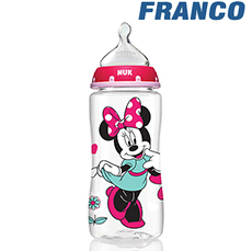 DISNEY MINNIE SET BIBERONES X 2 8 Y 4 ONZ  +  CHUPON