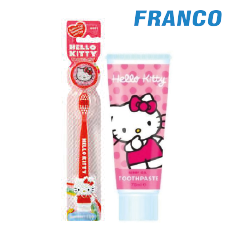 HELLO KITTY CREM.DENT.X120G ULTRA FLUOR + CEPILLO360º