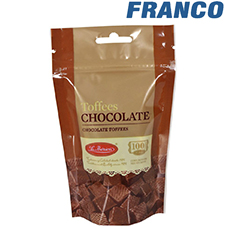 LA IBERICA TOFFEES CHOCOLATE X100GR BL
