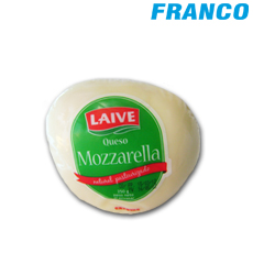 LAIVE QUESO MOZZARELLA PORCION  X 250 GR