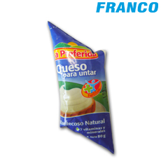 LA PREFERIDA CREMA DE QUESO P / UNTAR NATURAL X 80GR**