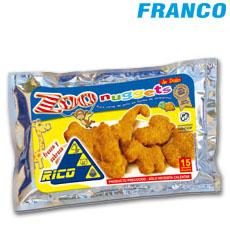 RICO POLLO ANIMAL / ZOO /  NUGGETS X 350 GR
