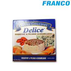 DELICE QUESO GOURMET ROQUEFORT QUESO AZUL X150GR