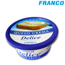 DELICE QUESO CREMA LIGHT NATURAL X227GR TP***