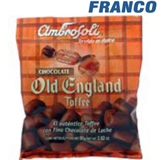 AMBROSOLI OLD ENGLAND TOFFEE CHOCOLATE X80UND