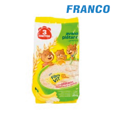 3 OSITOS CEREAL PLATANO X 144 GR.