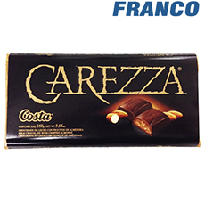 COSTA CHOCOLATE CAREZZA X30GR