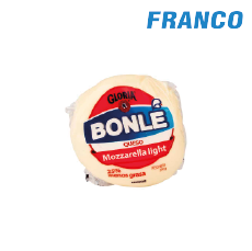 BONLE QUESO MOZARELLA LIGHT X 250GR BOLA