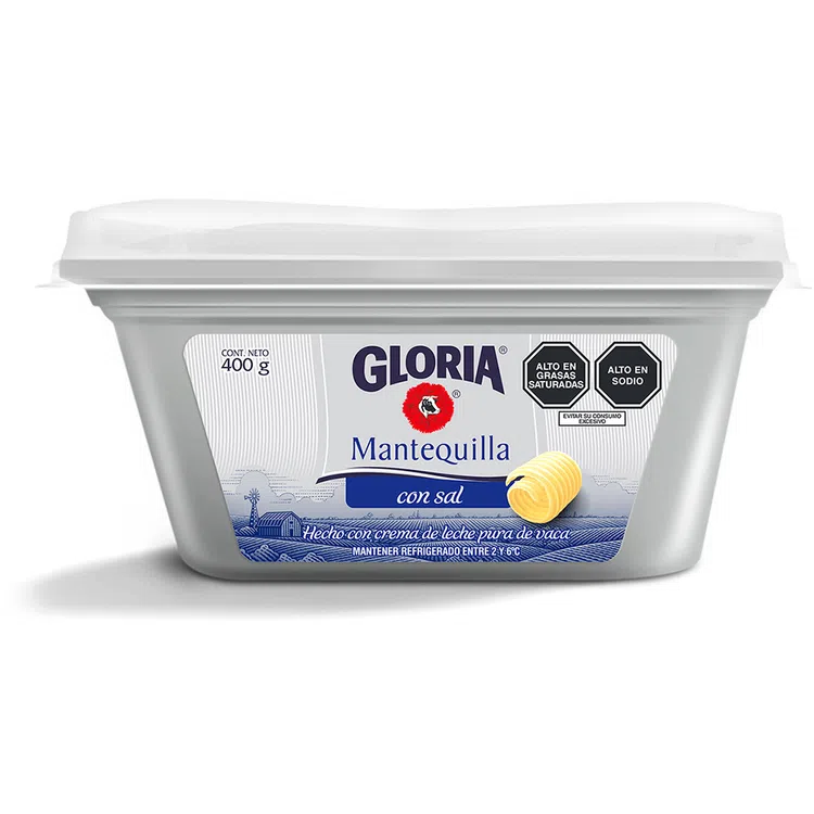GLORIA MANTEQUILLA CSAL X 400 GR. POTE