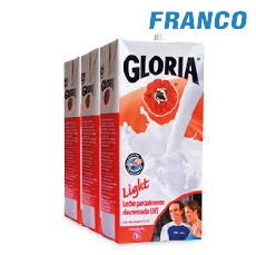 GLORIA LECHE ENTERA LIGHT  X1 LT. TRIPACK TTP. H23