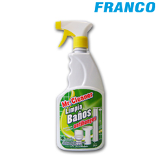 MR.CLEANER LIMPIA BAÑOS ANTIHONGOS LIMON GAT / 670ML