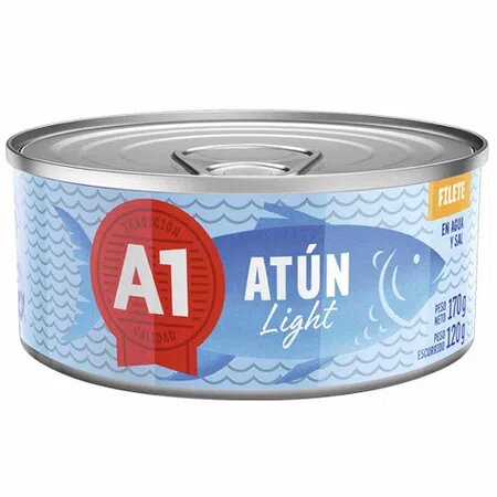 A-1 FILETE ATUN LIGHT X 170 GR