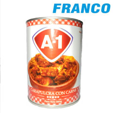 A-1 CARAPULCRA CON CARNE X 560G LT