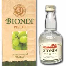 BIONDI PISCO ITALIACJ  375.00 ML