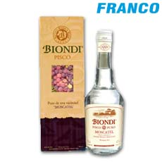 BIONDI PISCO MOSCATEL X 500ML CJ