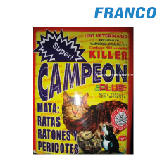 KILLER CAMPEON MATA RATAS X5GR