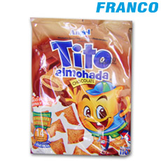 ANGEL ALMOHADA CHOCOLATE TITO X110GR