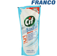 CIF ANTIBACTERIAL BAÑO X 450 ML DP