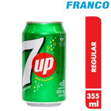 7UP GASEOSA X355 ML LATA