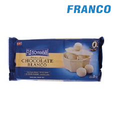 FLEISCHMANN CHOCOLATE BLANCO X1 KG. BARRA